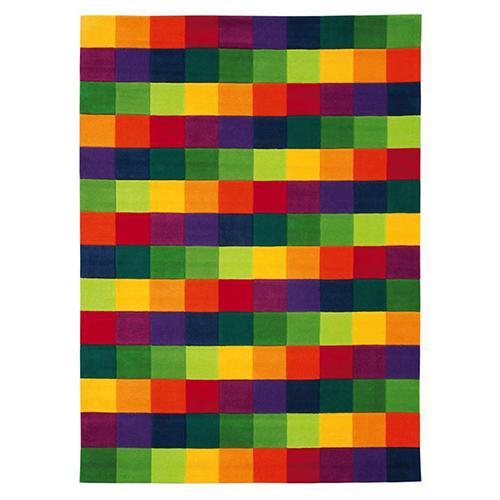 килим Joy – Colour Festival цветни квадрати