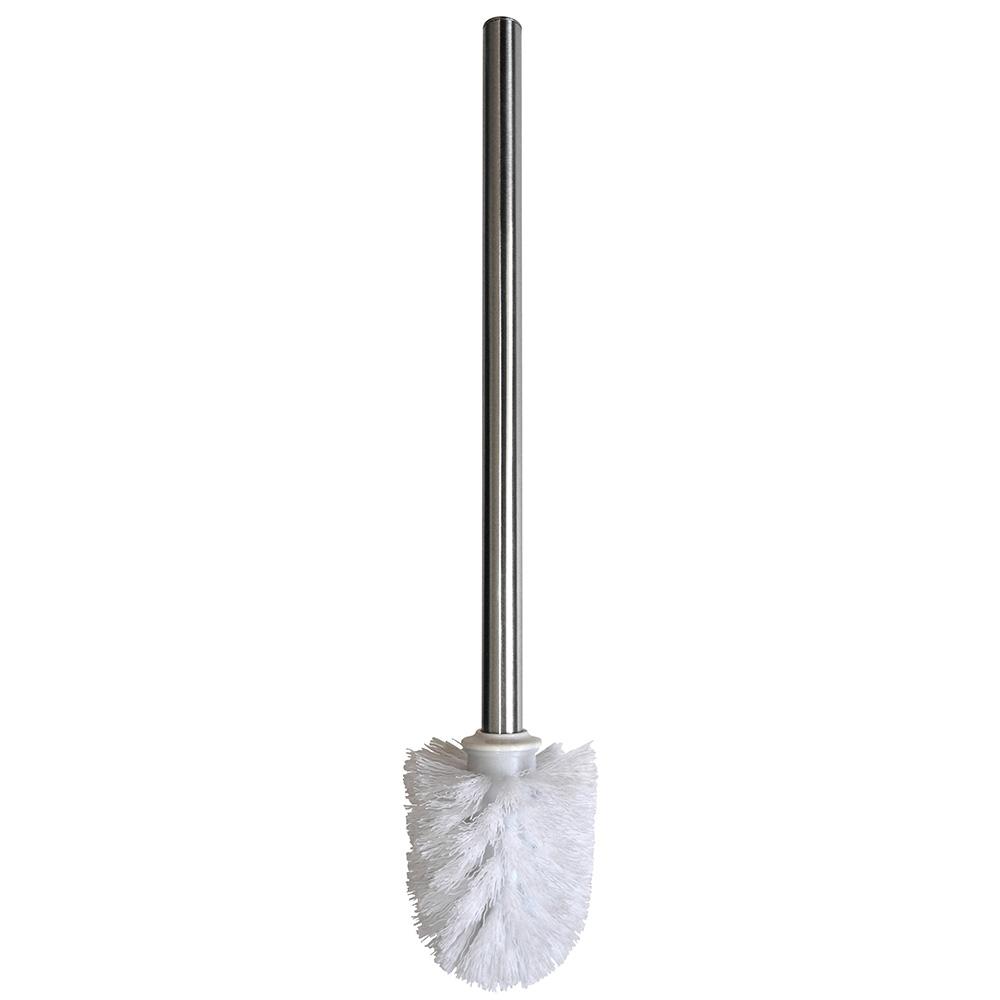 резервна четка за тоалетна с дръжка Хром