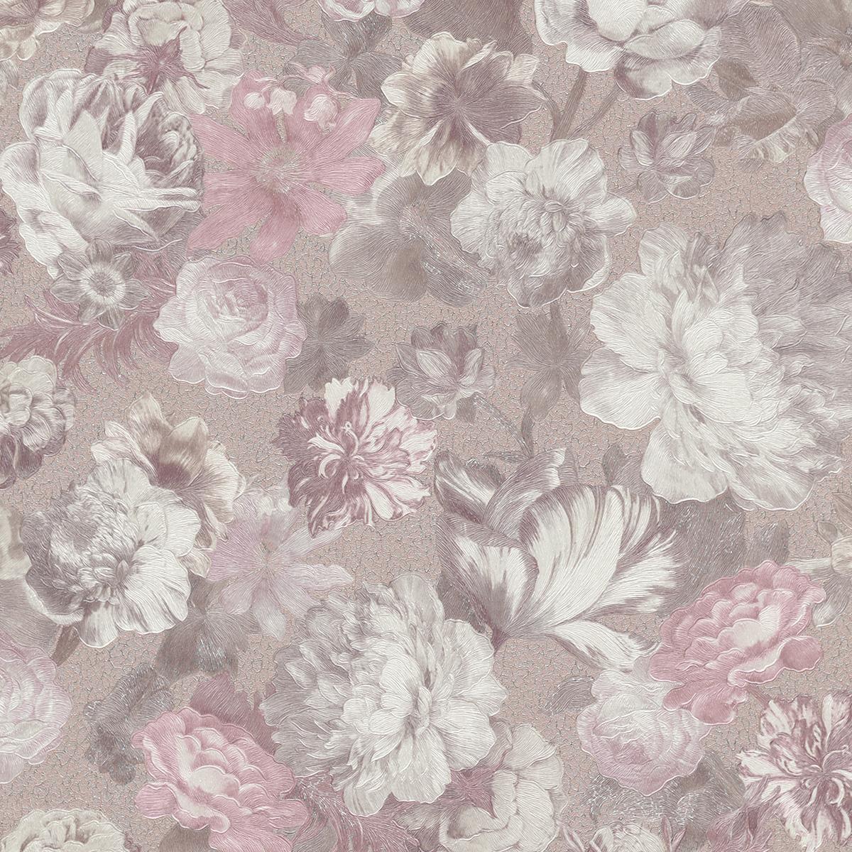 тапет Новости копринени цветя перлено розово