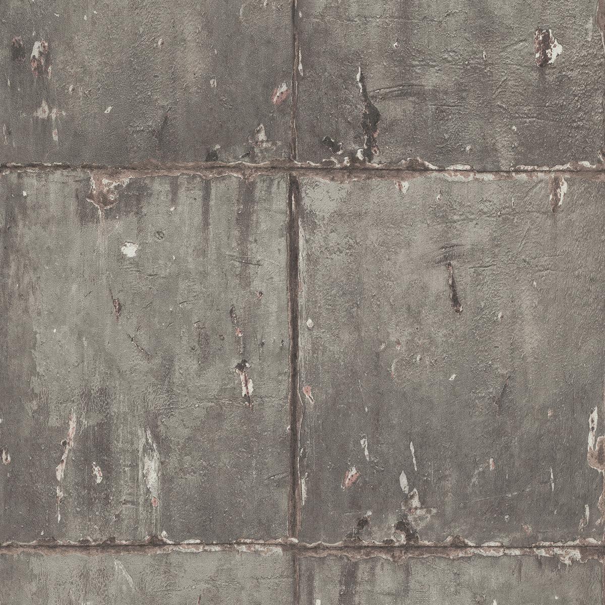 тапет Новости 2 метални панели кафяво