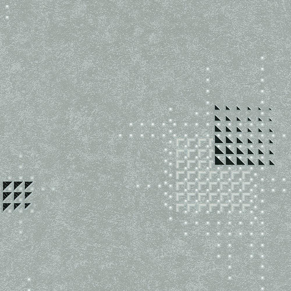 тапет Новости квадрати от триъгълници сиво