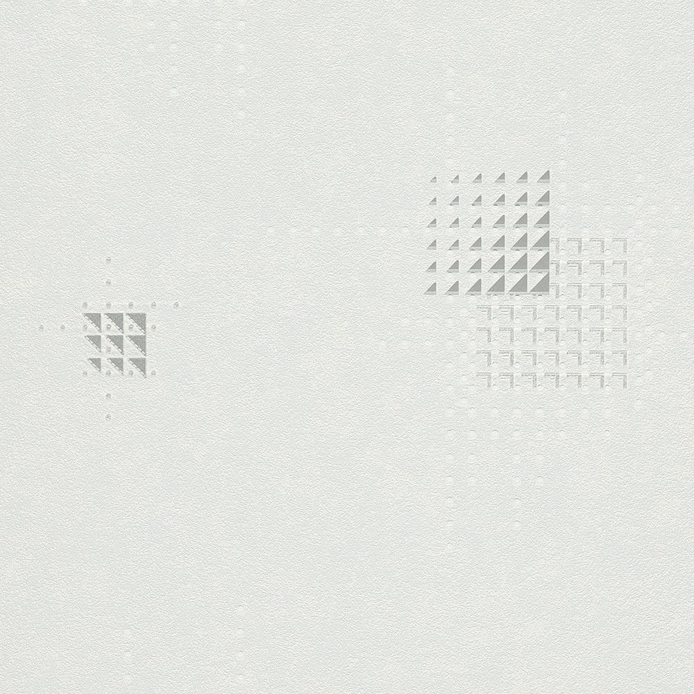 тапет Новости квадрати от триъгълници бяло