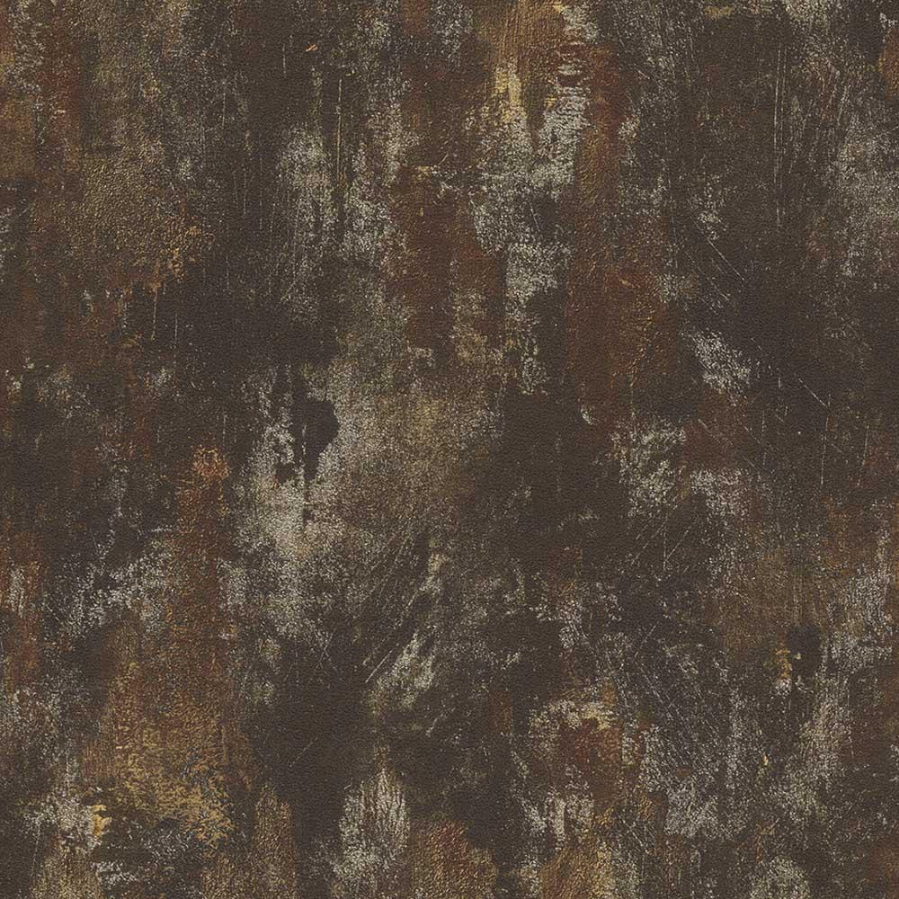 тапет Инспирейшън метал стена кафяво (Криспи)