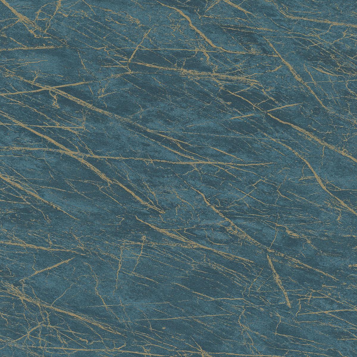 Тапет Инспирейшън 2 мрамор син златно