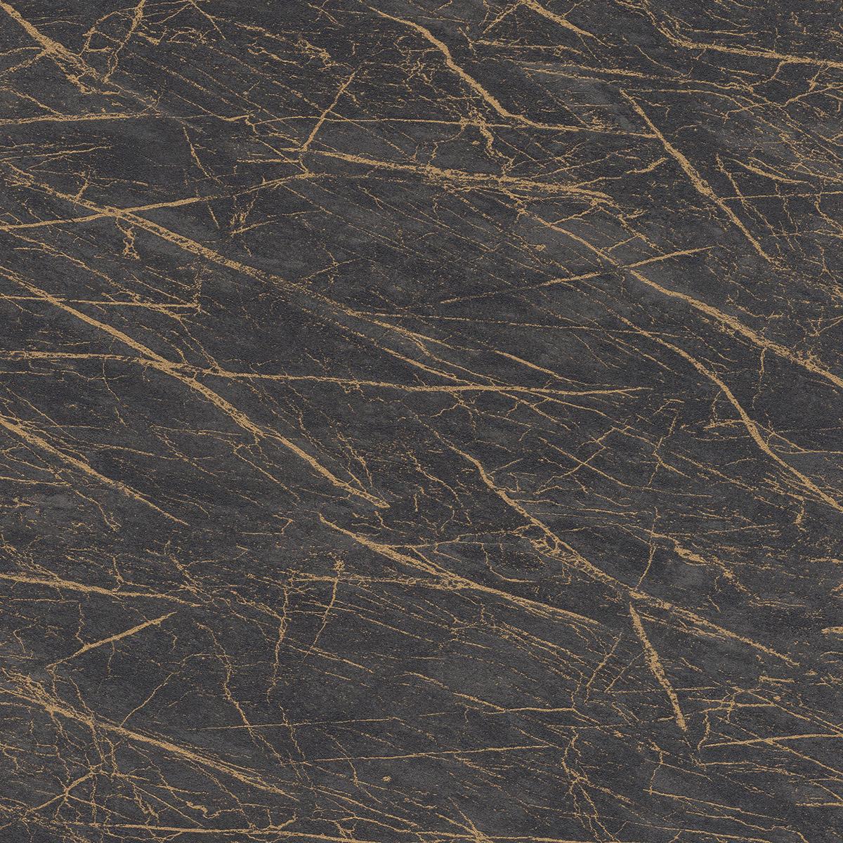 Тапет Инспирейшън 2 мрамор черен златно