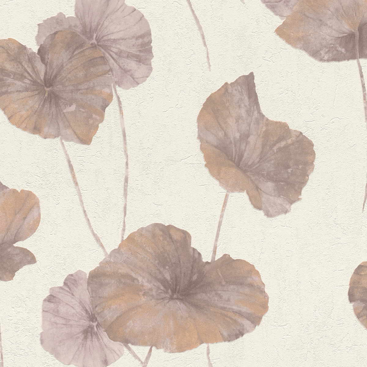 Тапет Инспирейшън 2 розови листа бяло