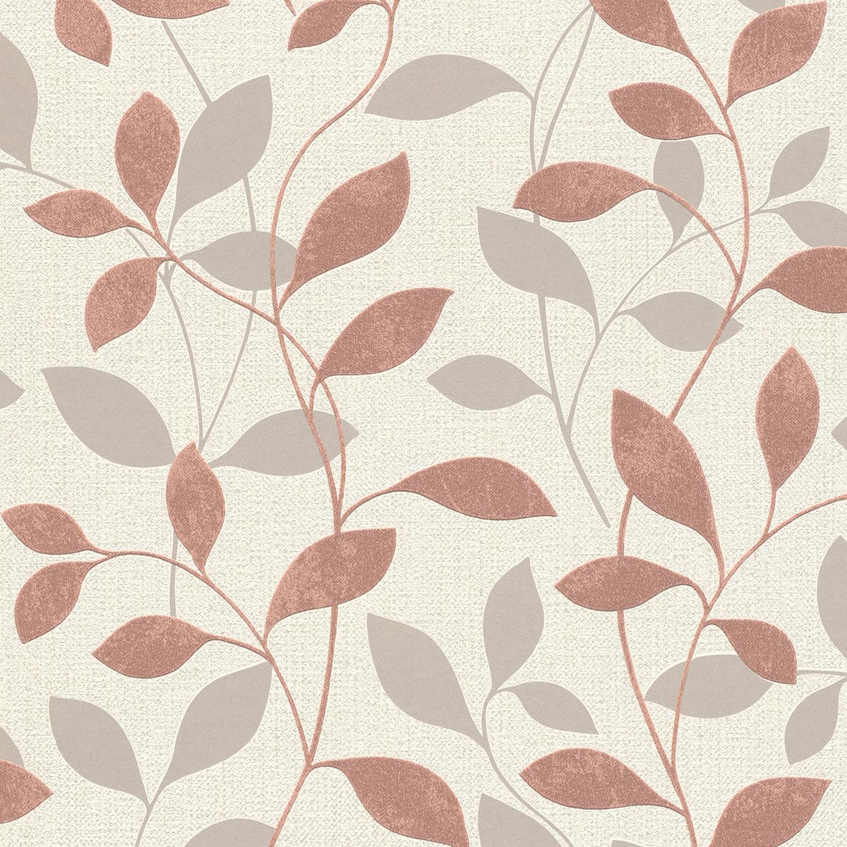 Тапет Инспирейшън 2 розови клонки бял