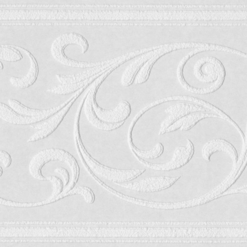 тапетен фриз за боядисване Ла Ви листа 17х1005