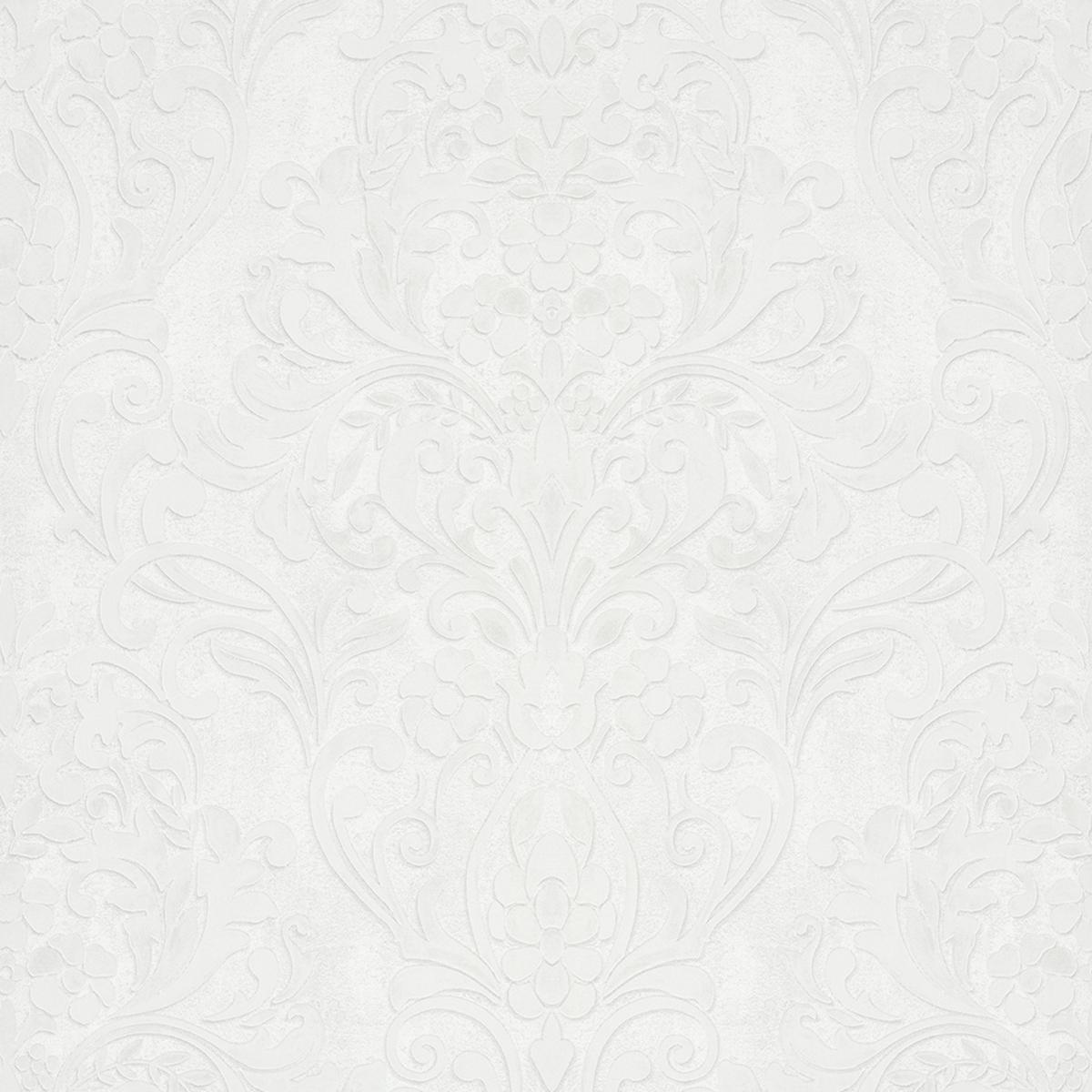 Тапет Ърбан Спейсис крем орнаменти бял