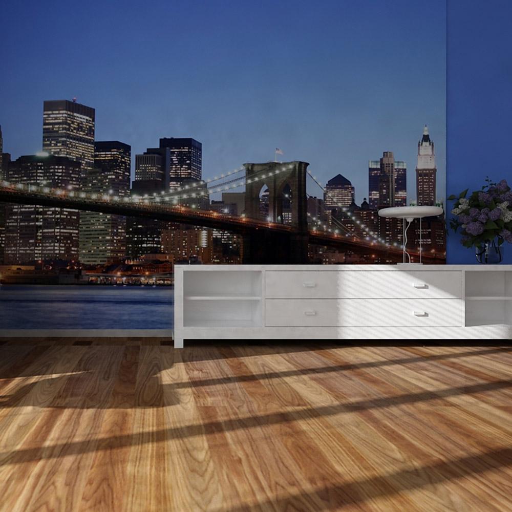 Фототапет Стандарт 360×254 см, 4ч., Бруклинският мост