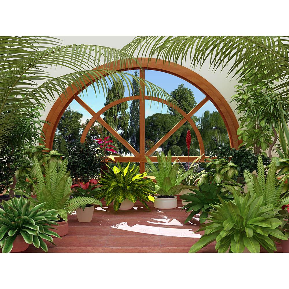 Фототапет Стандарт 360×254 см, 4ч., зимна градина