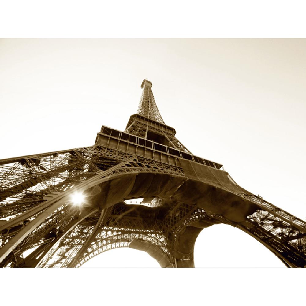 Фототапет Стандарт 360×254 см, 4ч., Айфелова кула ч/б