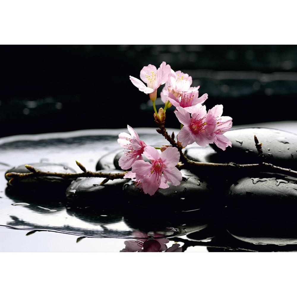 Фототапет Стандарт 360×254 см, 4ч., зен орхидея