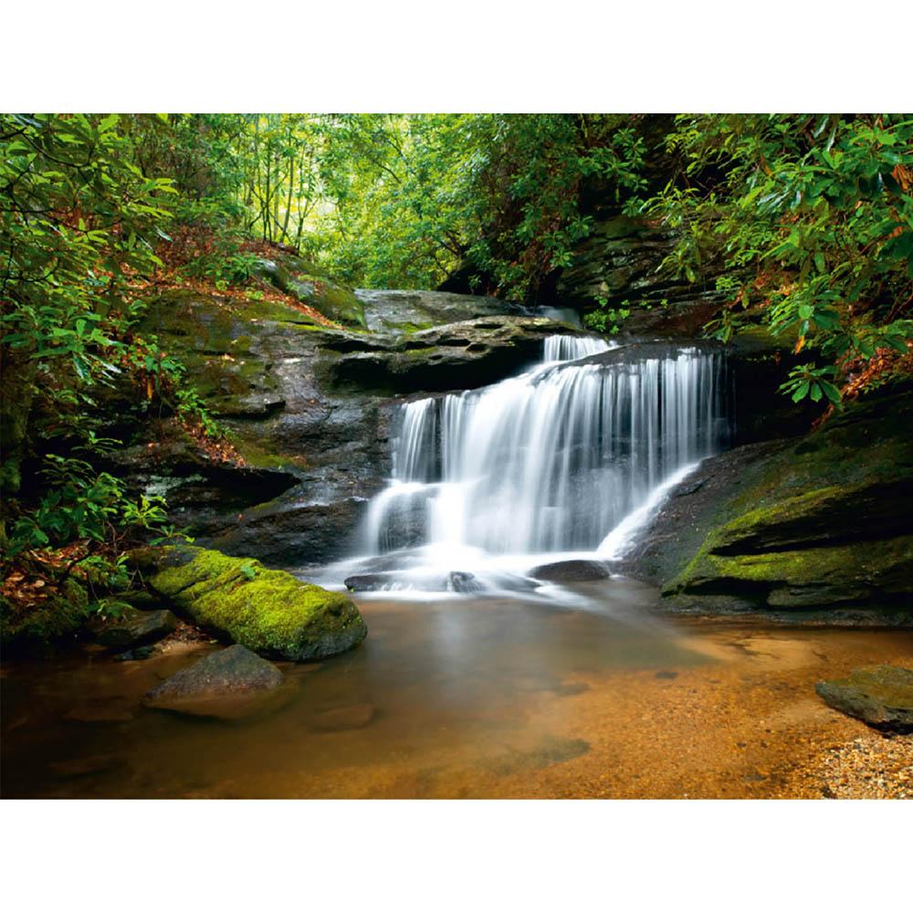Фототапет Стандарт 360×254 см, 4ч., водопад