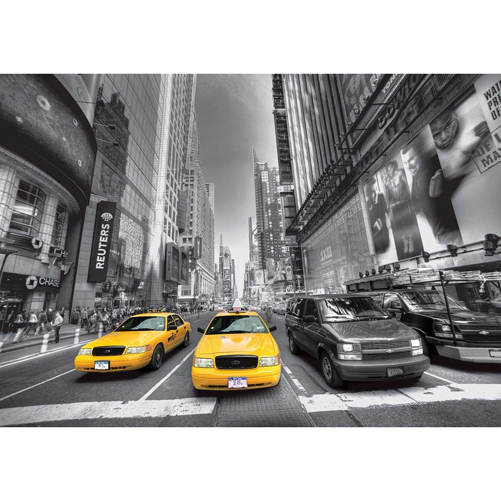 Фототапет Стандарт 360×254 см, 4ч., такси
