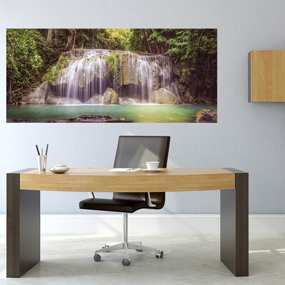 фототапет Флис 202×90/1ч Хориз. Горски водопад
