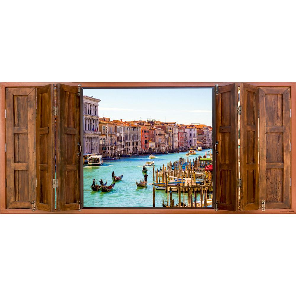 фототапет Флис 202×90/1ч Хориз. Прозорец Венеция