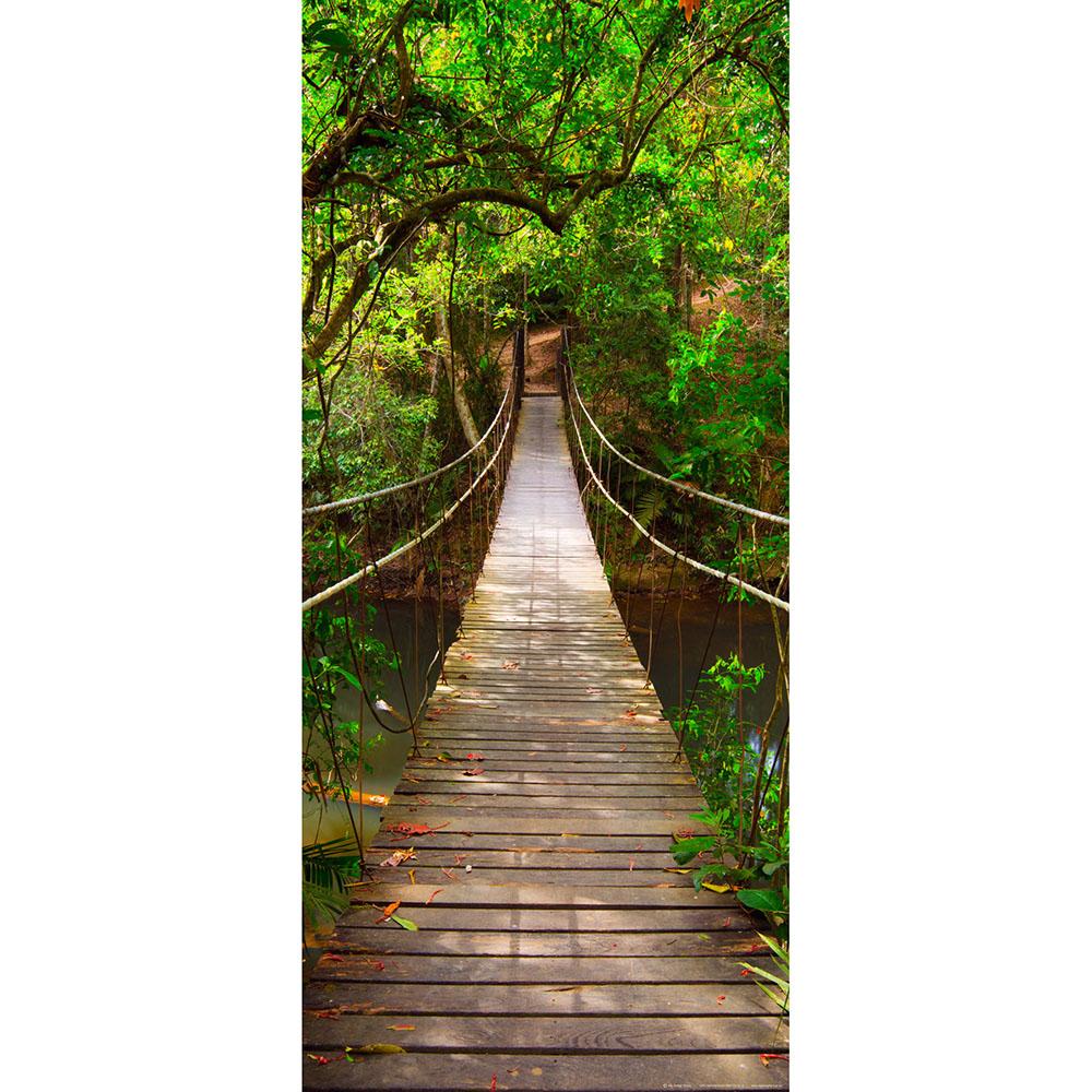 Фототапет Флис 90×202/1ч Верт. Зелен мост