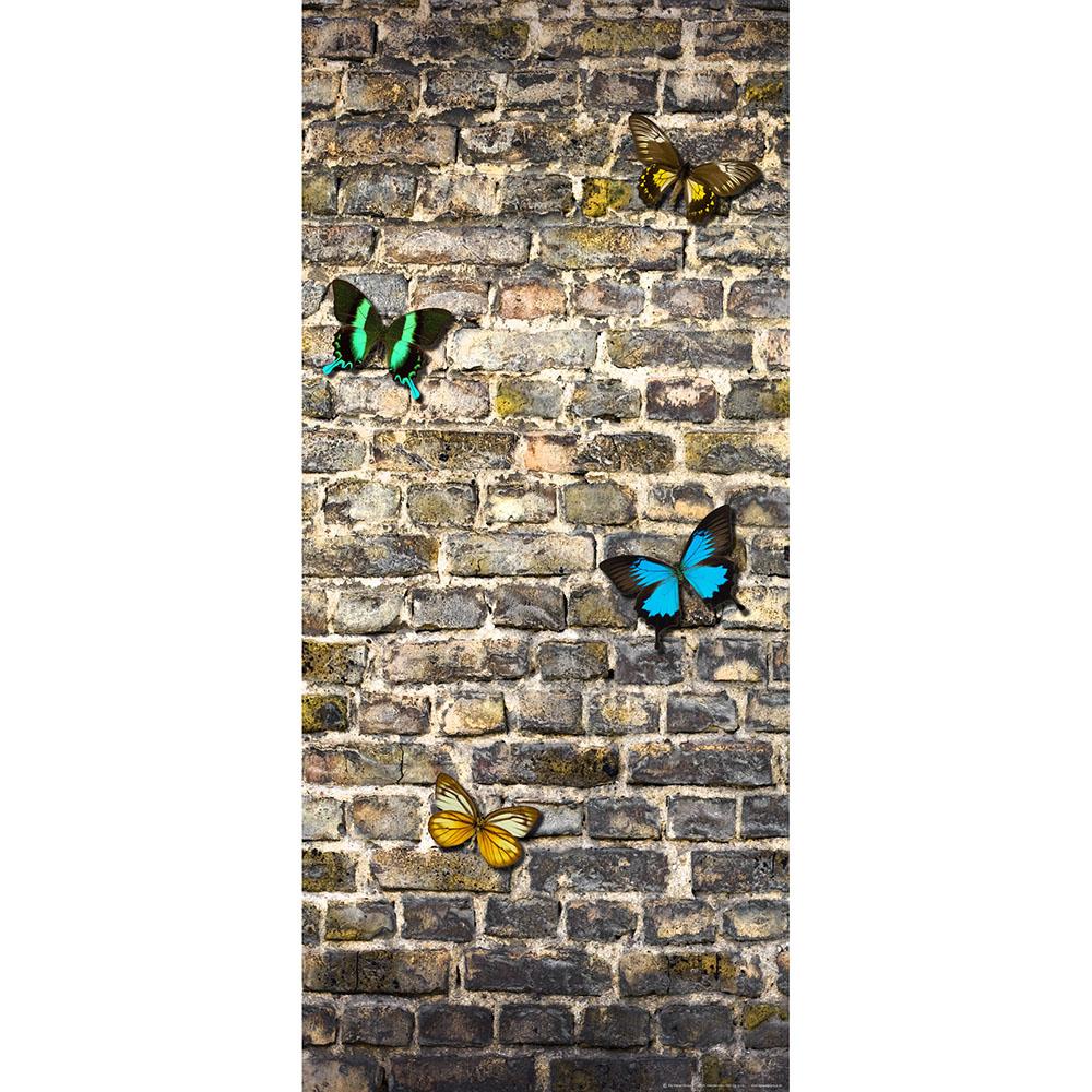 Фототапет Флис 90×202/1ч Верт. Пеперуди