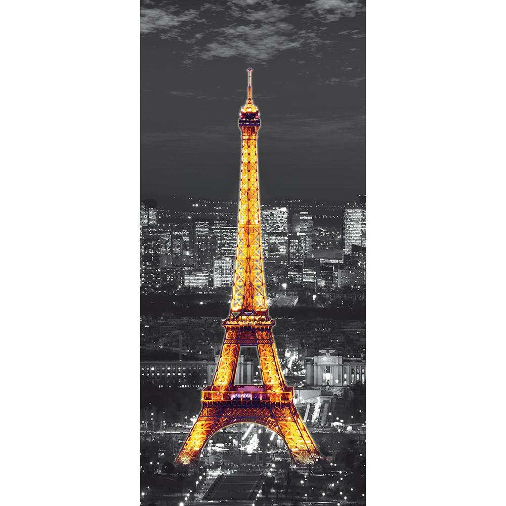 фототапет Флис 90×202/1ч Верт. Нощ в Париж
