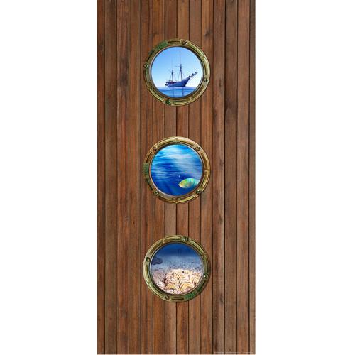 фототапет Креатив Вертикал 90×202 см, 1ч., кораб