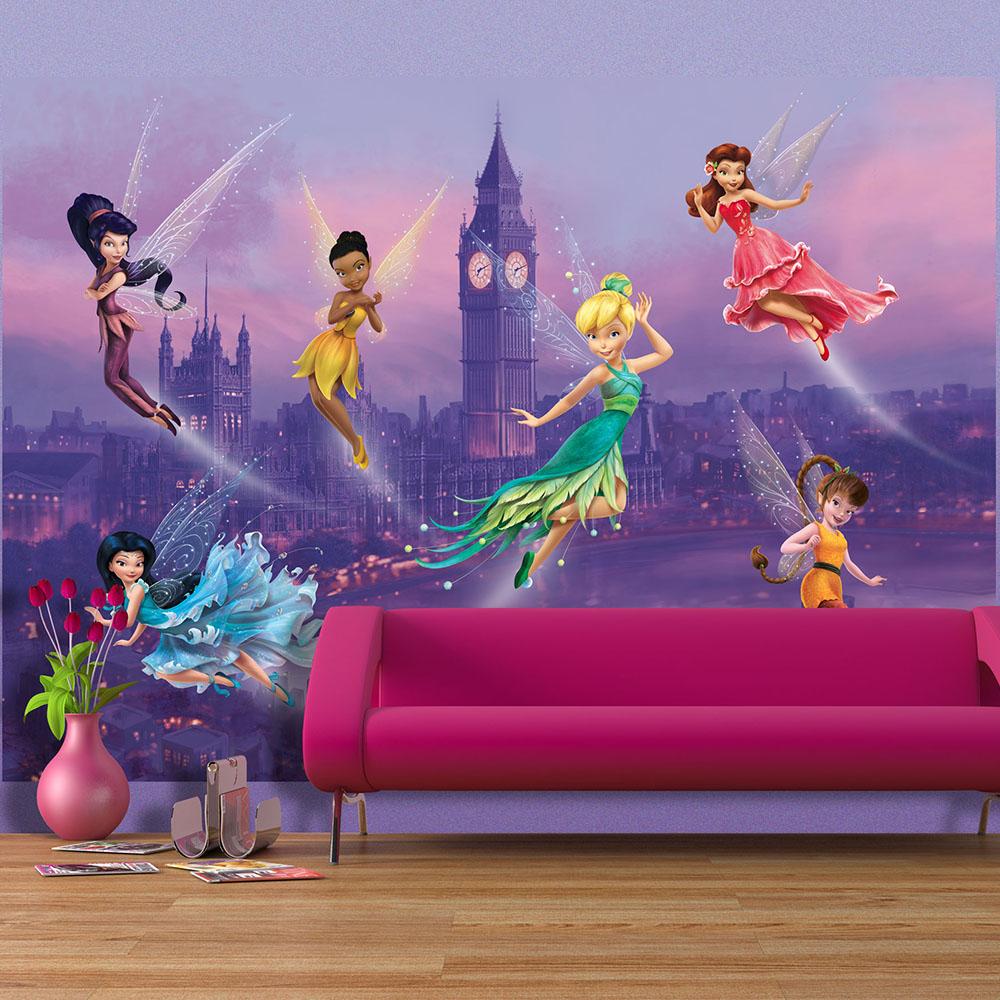 фототапет Disney стандарт 255х180/2ч Феи в Лондон