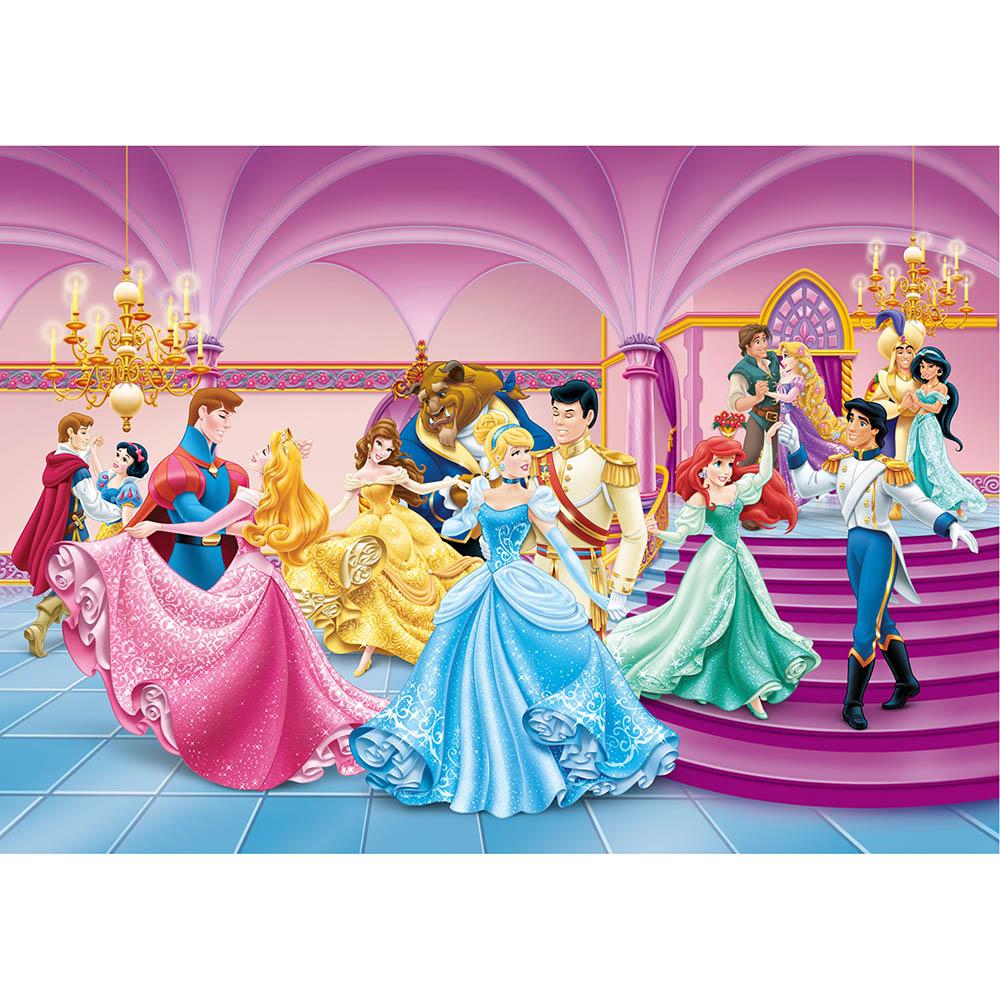 фототапет Disney стандарт 255х180/2ч Принцеси карнавал
