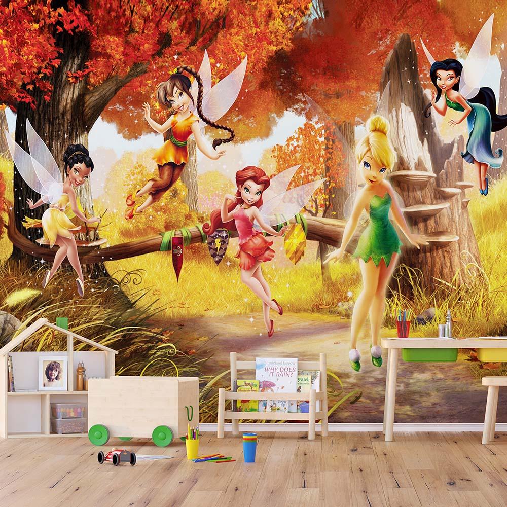 Фототапет Disney Стандарт 360×254 см, 4ч., феи