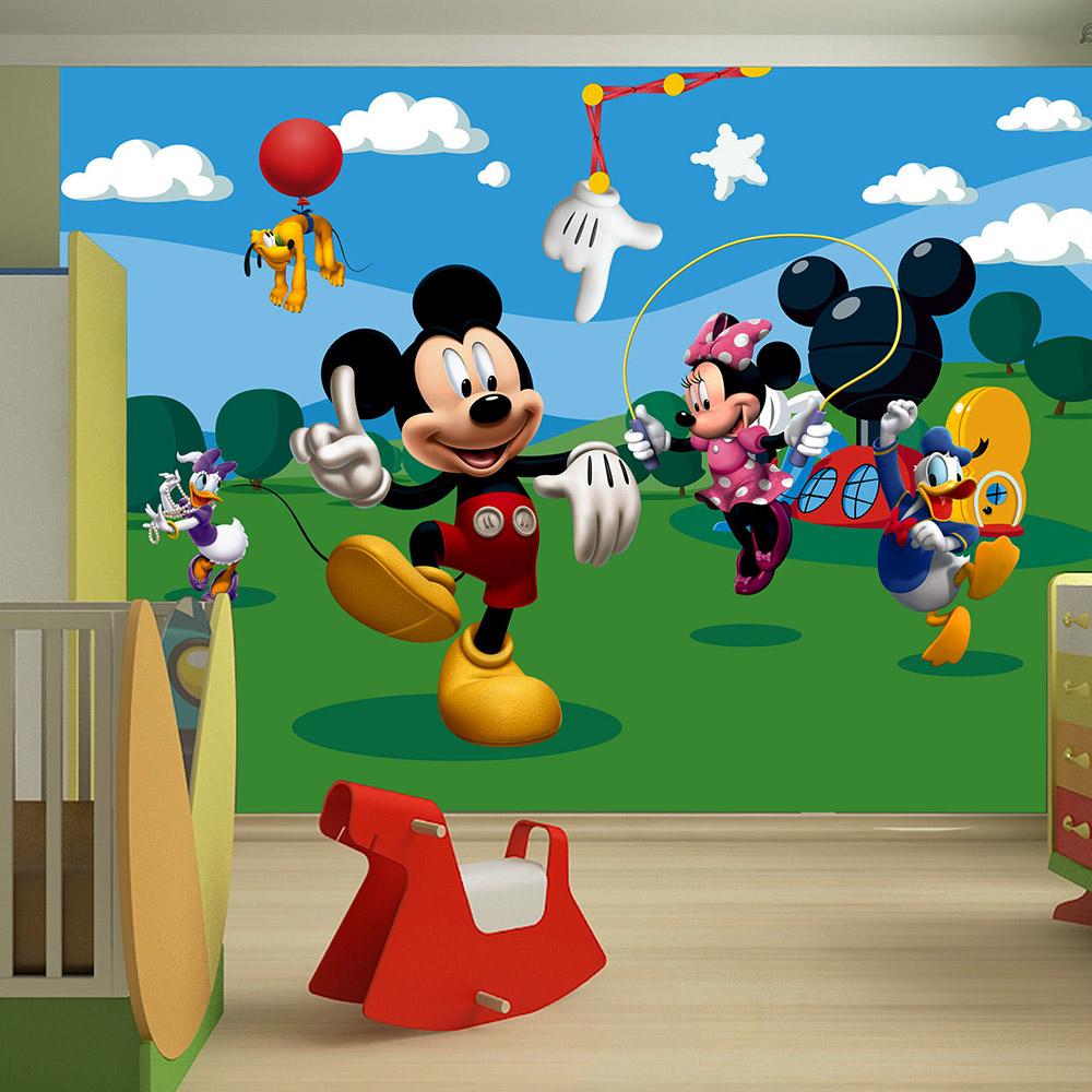 Фототапет Disney Стандарт 360×254 см, 4ч., Мики маус