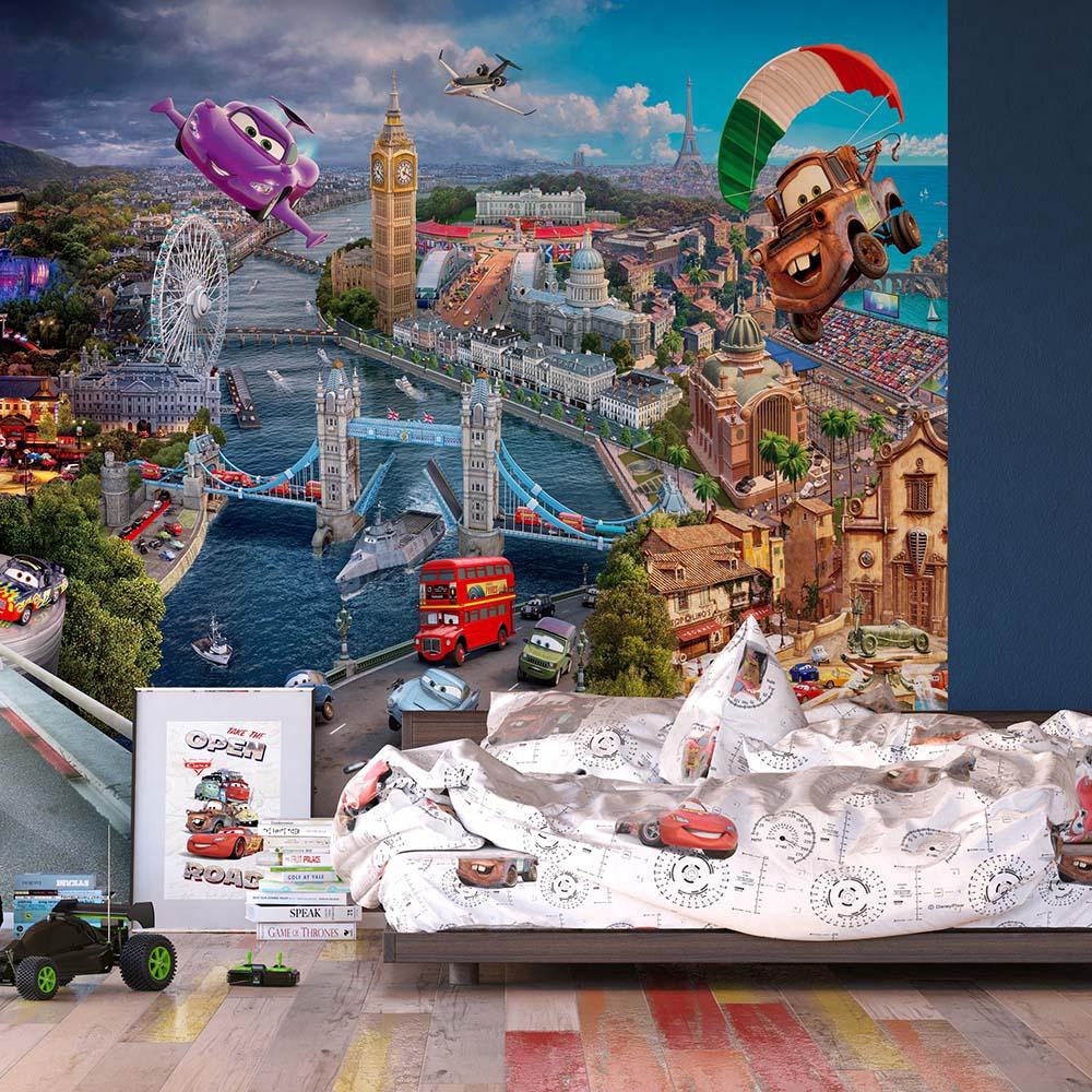 Фототапет Disney Стандарт 360×254 см, 4ч., колите