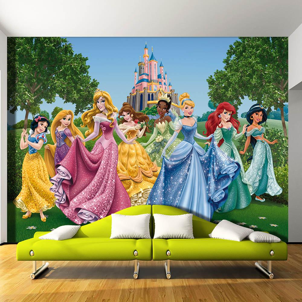 Фототапет Disney Стандарт 360×254 см, 4ч., принцеси