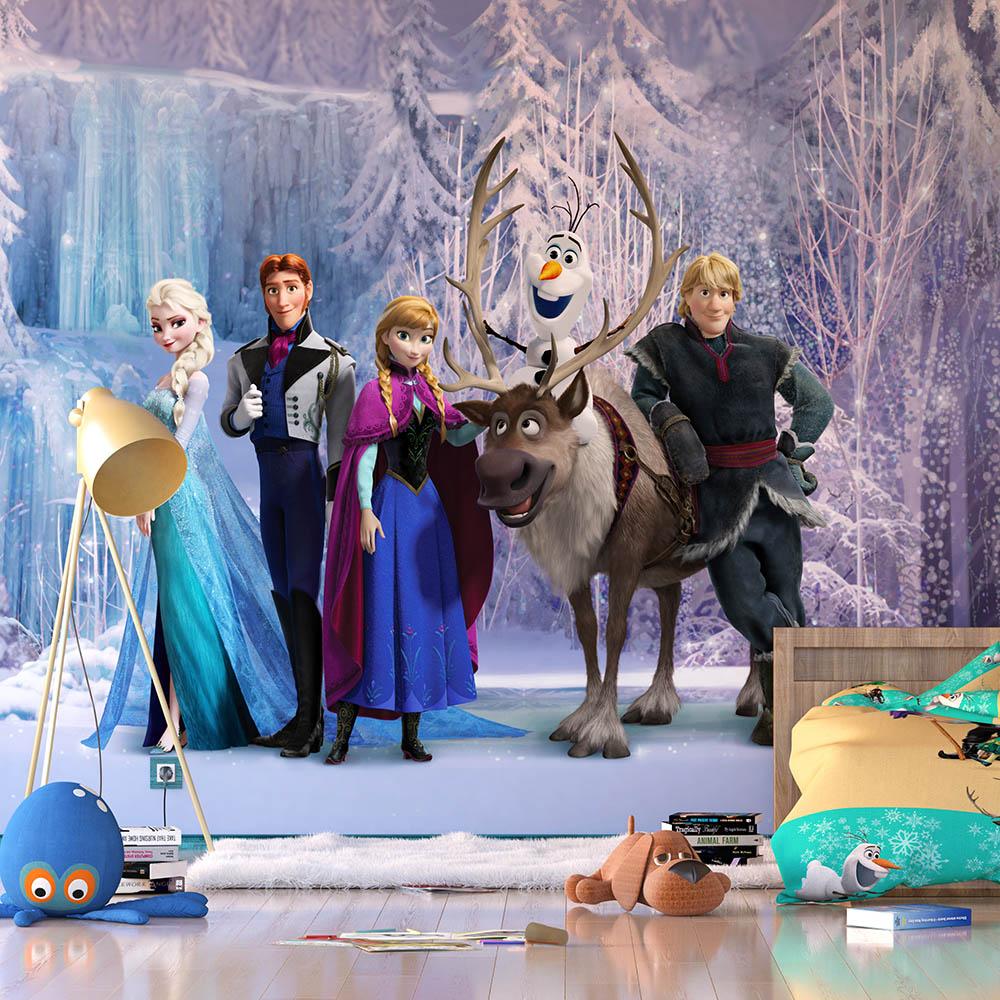 фототапет Disney Флис 360х270/4ч Замръзналото Кралство
