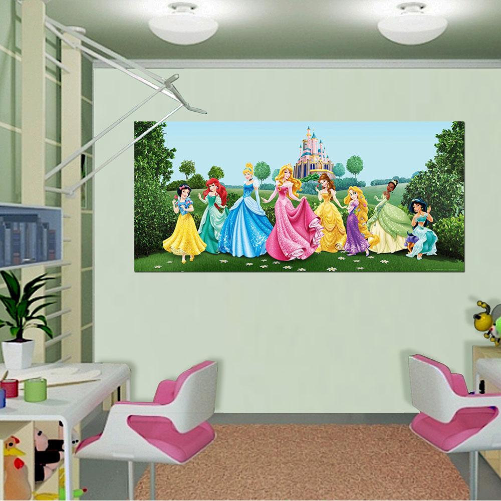 Фототапет Disney Флис 202×90/1ч Хориз. Принцеси