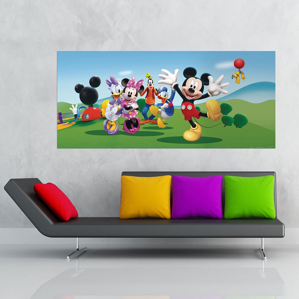 фототапет Disney Флис 202×90/1ч Хориз. Мики и приятели