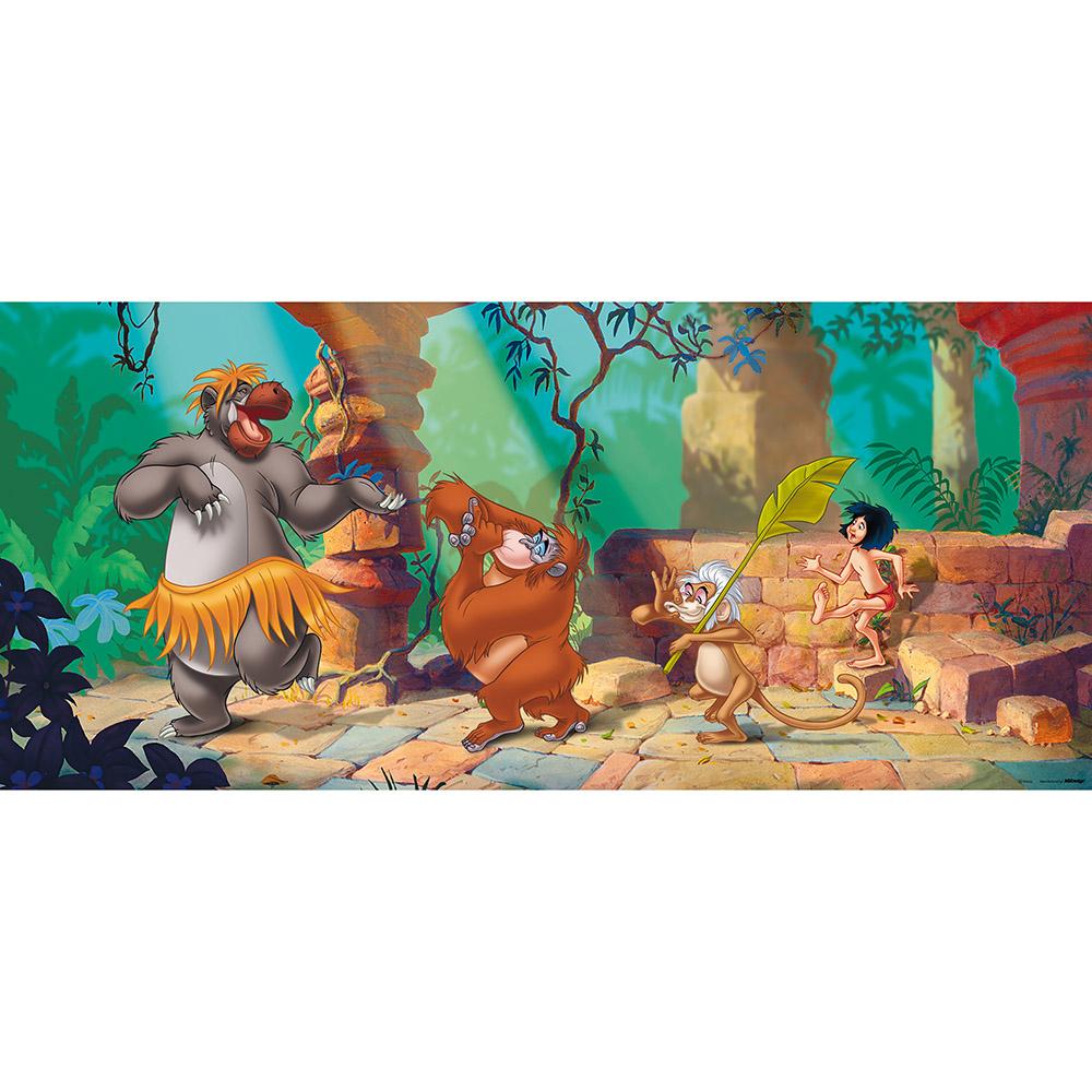 фототапет Disney Флис 202×90/1ч Хориз. Книга за Джунглата