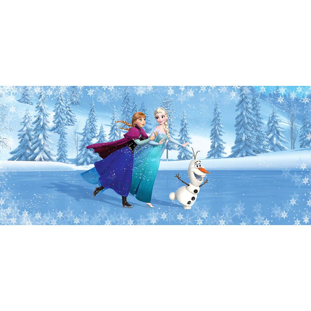 фототапет Disney Флис 202×90/1ч Хориз. Елза, Ана и Олаф