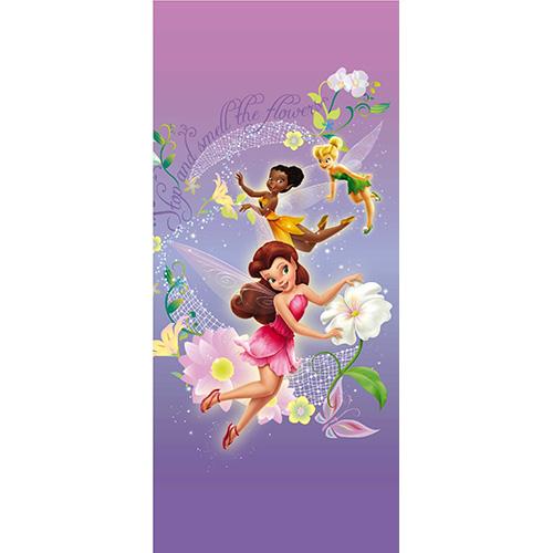 фототапет Disney Креатив Вер. 90×202 см, 1ч., Феи в лилаво