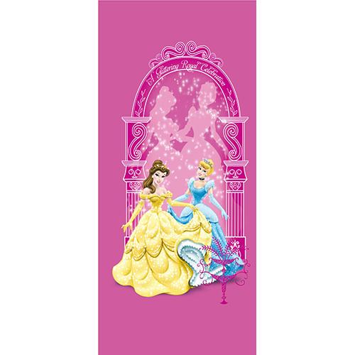 фототапет Disney Креатив Вер. 90×202 см, 1ч., Принцеси в розово