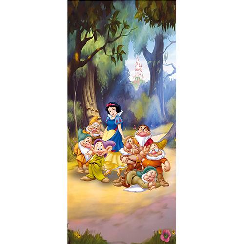 фототапет Disney Креатив Вер. 90×202 см, 1ч., Снежанка в гората