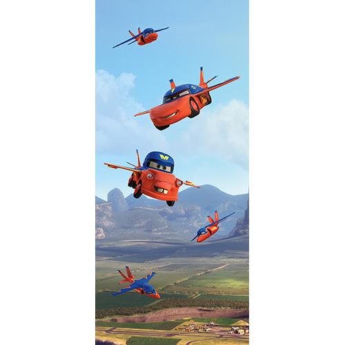 фототапет Disney Креатив Вер. 90×202 см, 1ч., колите летят
