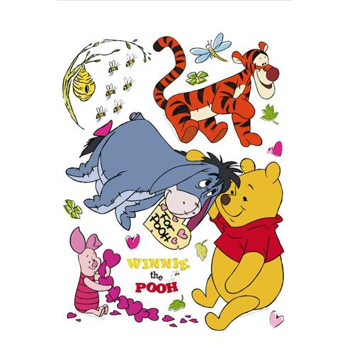 стикери A&G Disney 65×85 см, 1ч., Мечо Пух