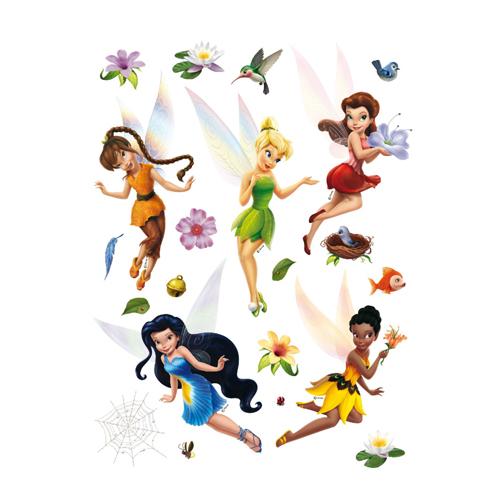 стикери A&G Disney 65×85 см, 1ч., феи