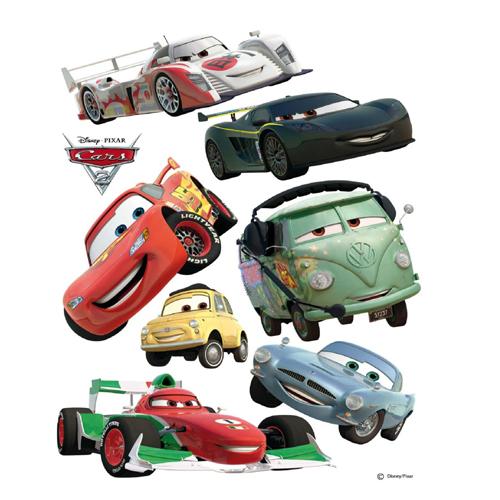 стикери A&G Disney 65×85 см, 1ч., колите 2