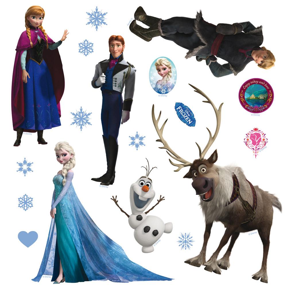 стикер Disney 30х30 Замръзналото Кралство