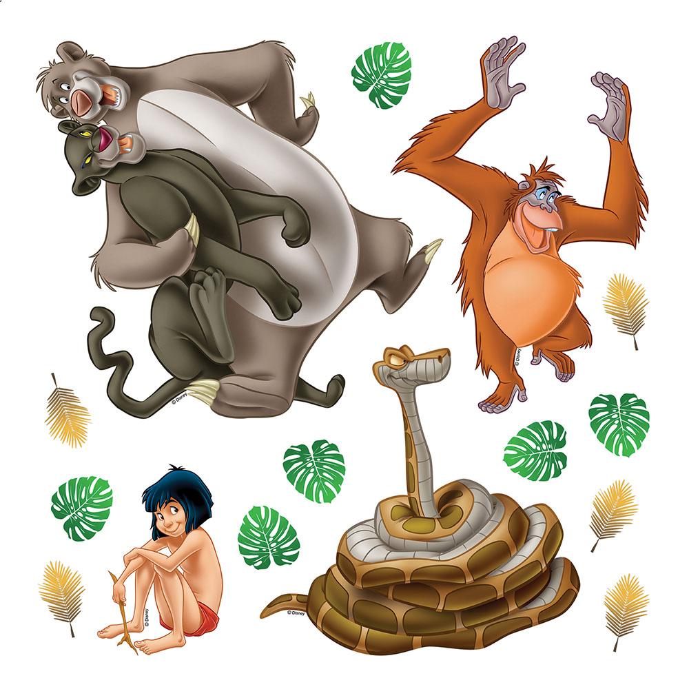 стикер Disney 30х30 Книга за джунглата