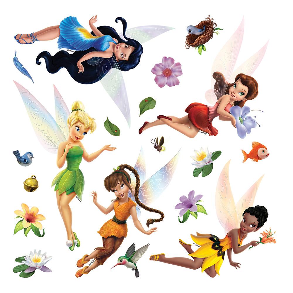 стикер Disney 30х30 Феи