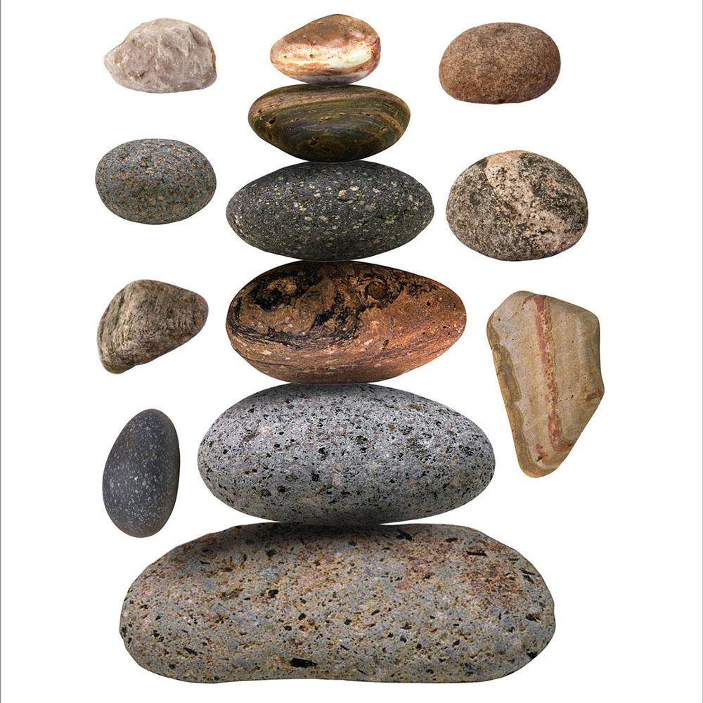 Стикери A&G 65×85 см, 1ч., камъни