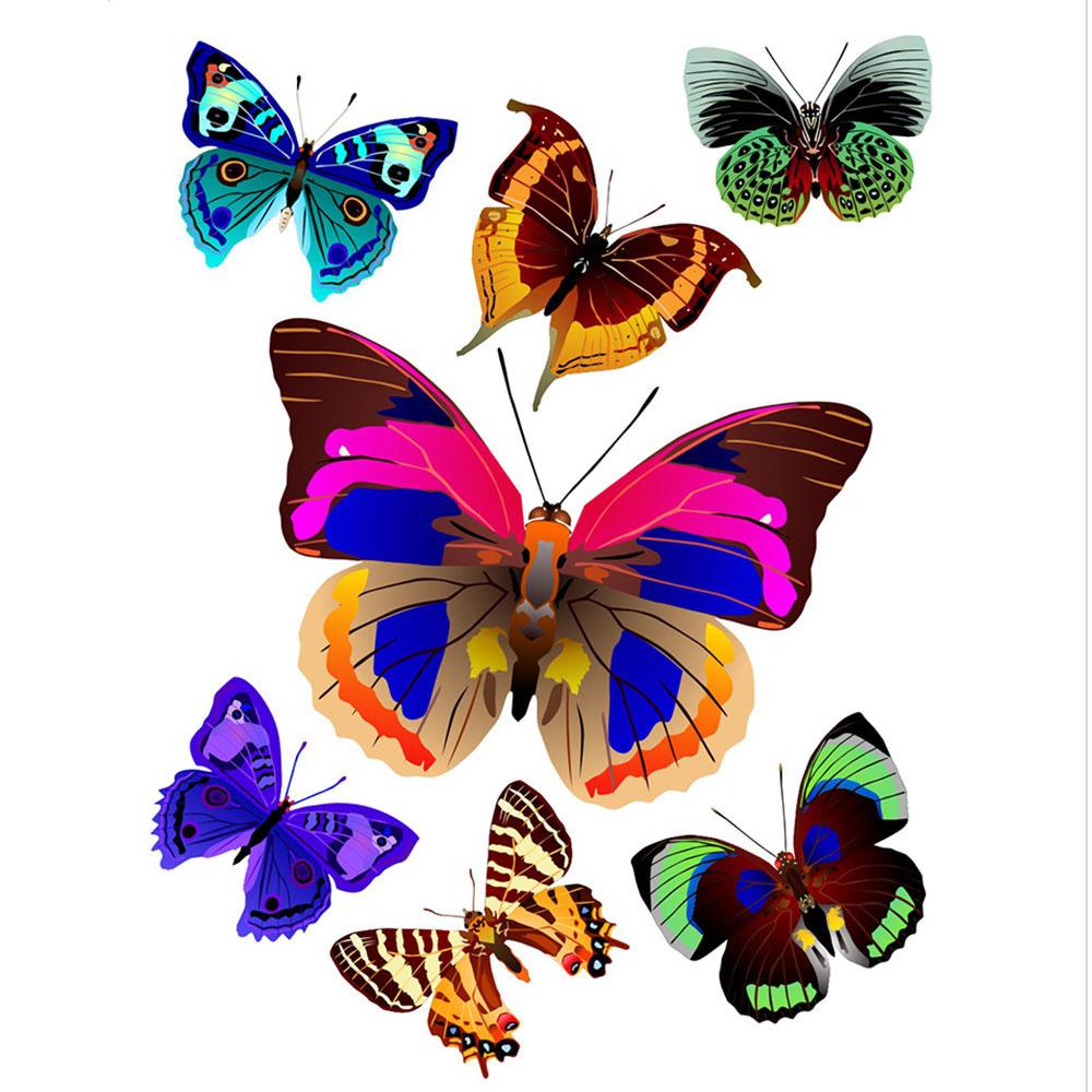 Стикери A&G 65×85 см, 1ч., пеперуди