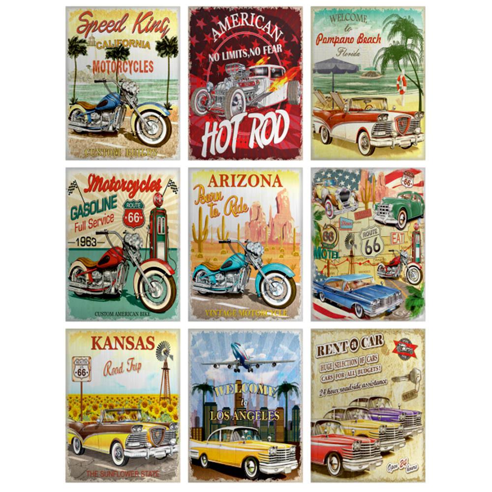 Стикер 65х85 Автомобили и мотоциклети