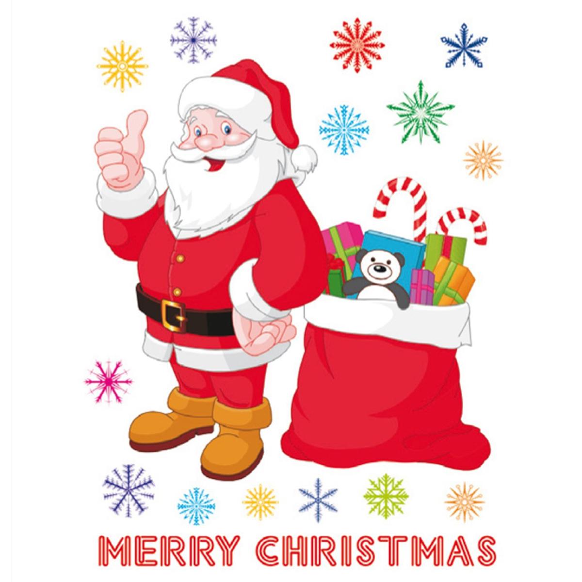 Стикери A&G 65×85 см, 1 ч., Честита Коледа